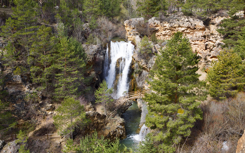Cascade de Calomarde à Teruel