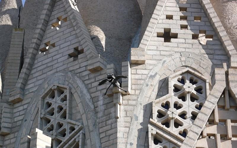 Architecture extérieure du Sanctuaire