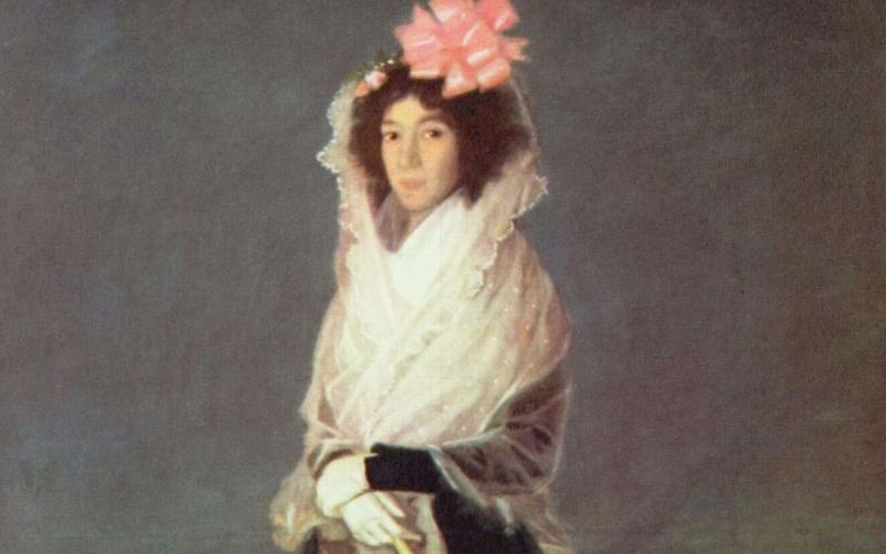 Portrait de la marquise de la Solana, au musée du Louvre