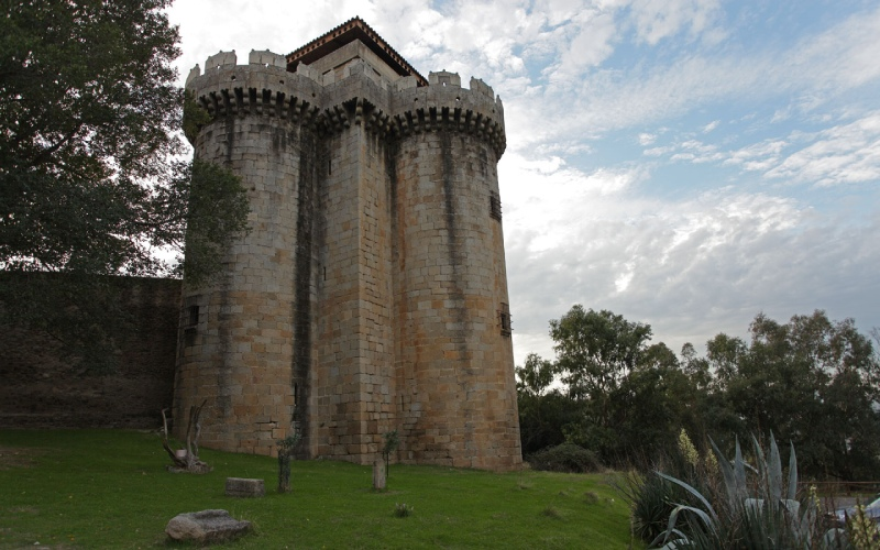 Château de Granadilla du XVe siècle