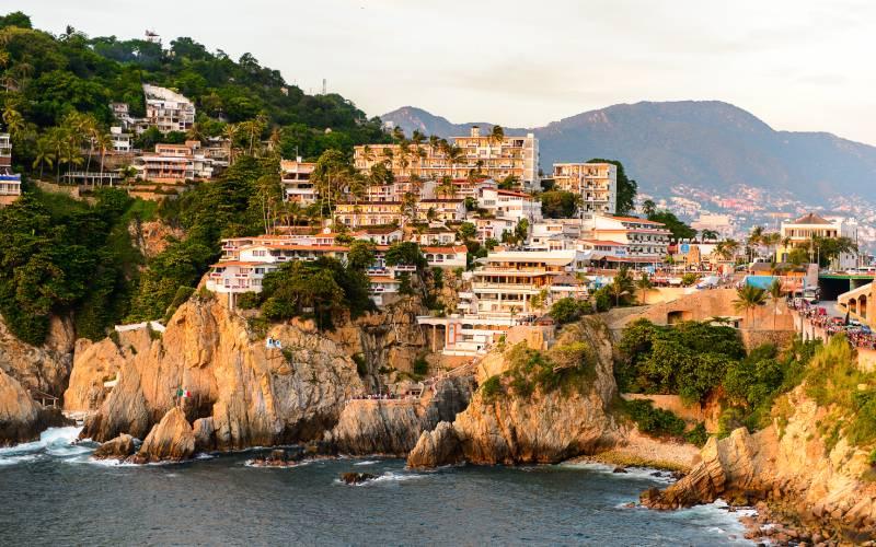 Acapulco, Mexique, la région par laquelle passait la route du Galion de Manille