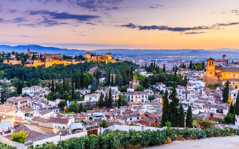 L'Albaicín et l'Alhambra