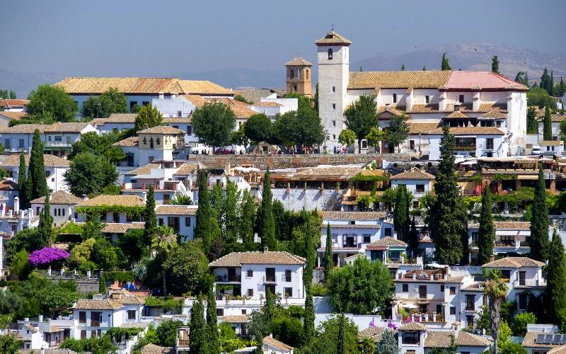 Panoramique du Quartier de l'Albaicín