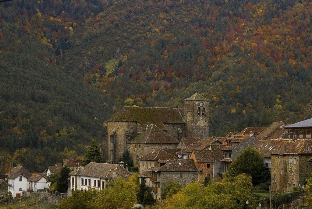 Ansó, le village en tête de la vallée