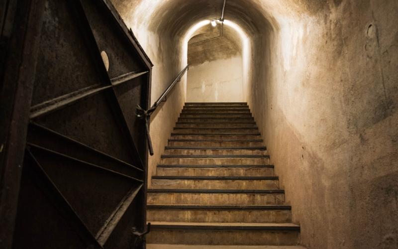 Le bunker du général Miaja
