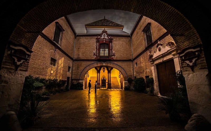 Entrée du Palais Benamejí