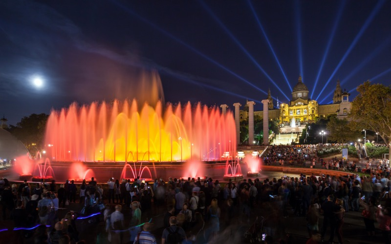 Fontaine enchantée de Montjuic