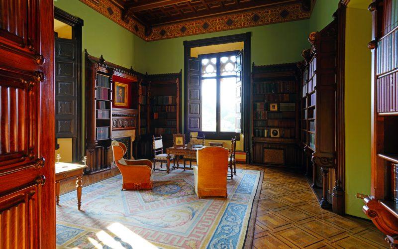 Bibliothèque du Palais de Sobrellano