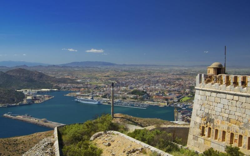 Panoramique du Port de Carthagène