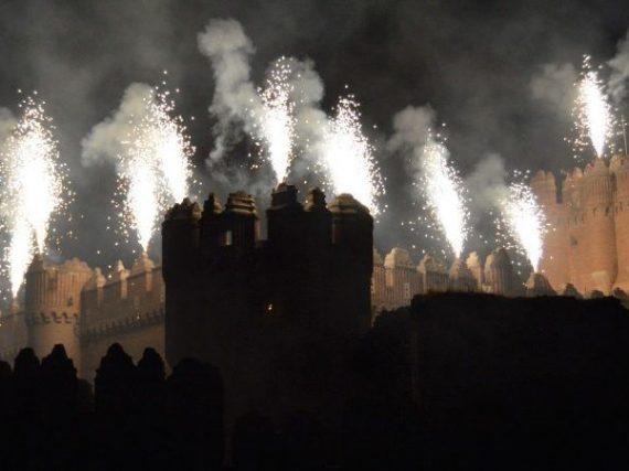 Les feux d'artifice du château de Coca qui allient passé et présent
