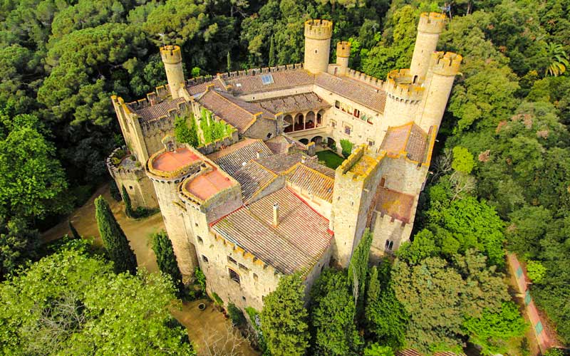 Château de Santa Florentina (Canet de Mar)