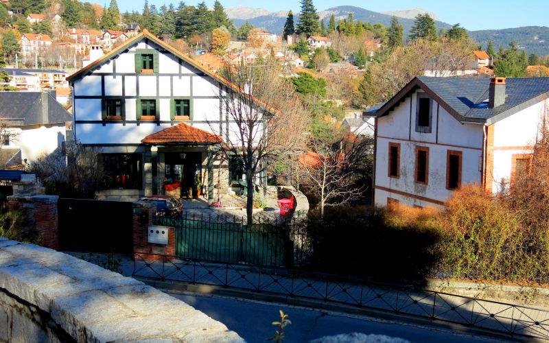 Maisons traditionnelles de Cercedilla