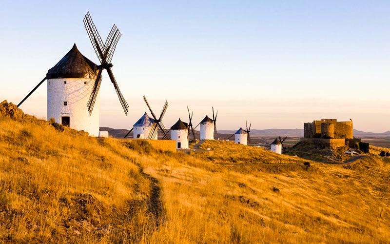 Moulins de Consuegra (Tolède)