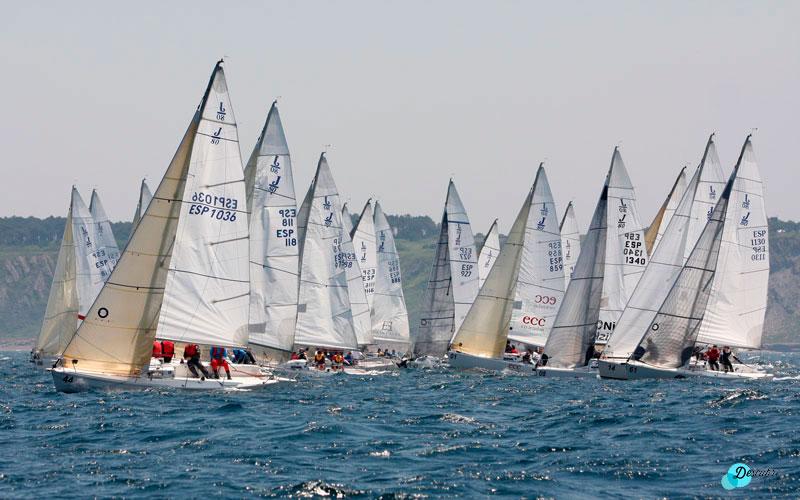 Copa España J80: barcos