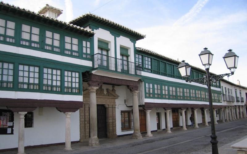 Façade du corral de co médies d'Almagro