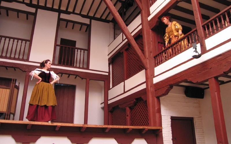 Dans les corrales étaient représentés les œuvres du Siècle d'or espagnol