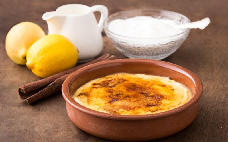 La délicieuse crème catalane