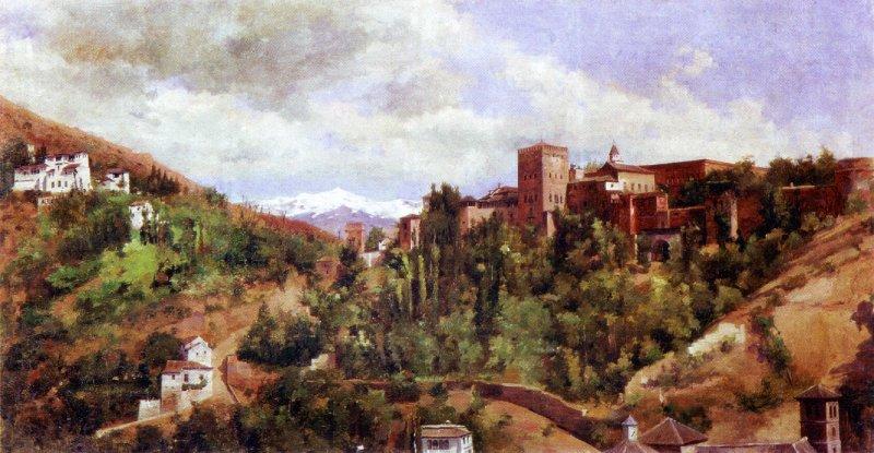 L'Alhambra et la Cuesta de los Chinos