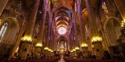 L'intérieur de la Cathédrale de Palma de Majorque