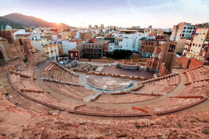 Théâtre romain de Carthagène