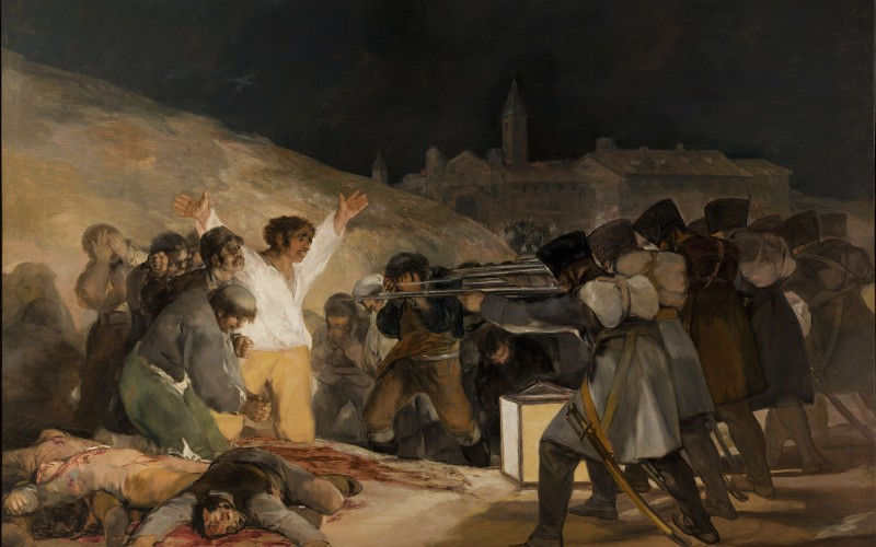 Le trois mai 1808 à Madrid