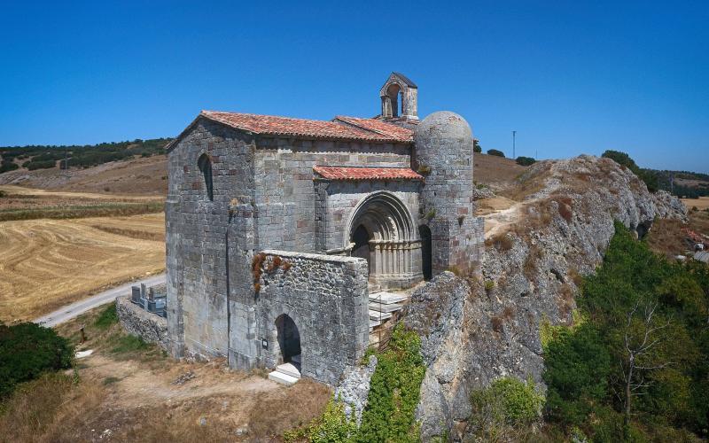 La beauté de l'église Santa Cecilia est unique