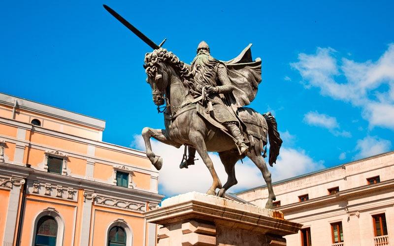 Statue du Cid Campeador
