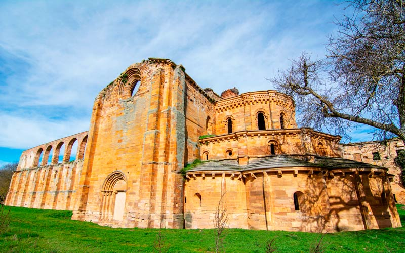 Granja de Moreruela et son monastère