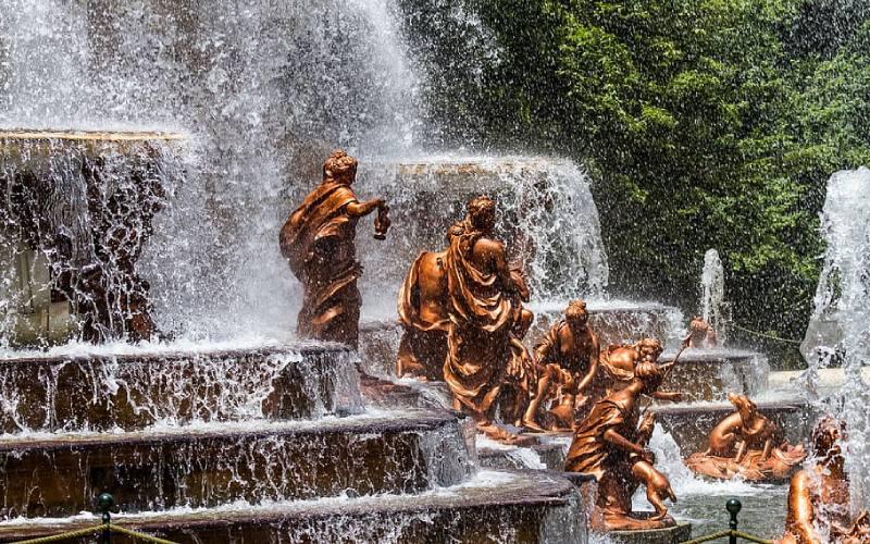 Fontaine des Bains de Diane à La Granja