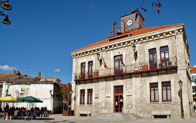 Grand-place de Guadalix de la Sierra