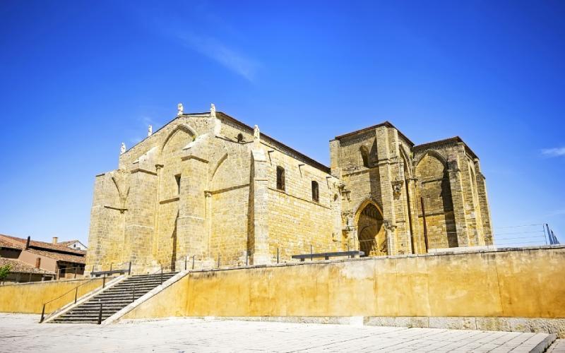 Église Santa María la Blanca à Villalcázar de Sirga