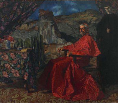 Ignacio Zuloaga. Le Cardinal, 1912.