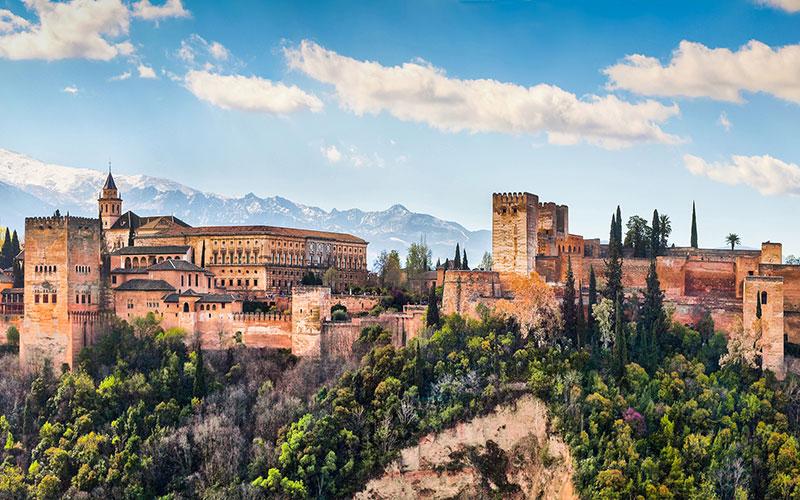 Palais de l'Alhambra à Grenade
