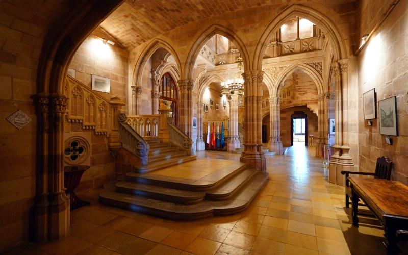 Intérieur du Palais de Sobrellano