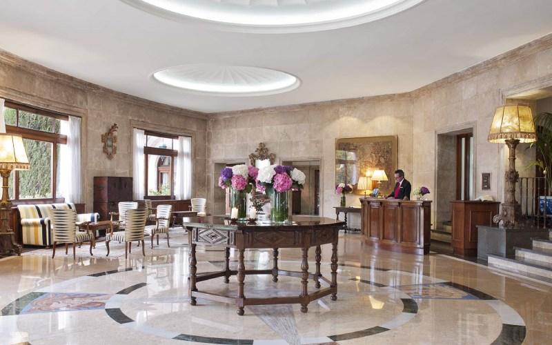 Lobby du Hostal de La Gavina