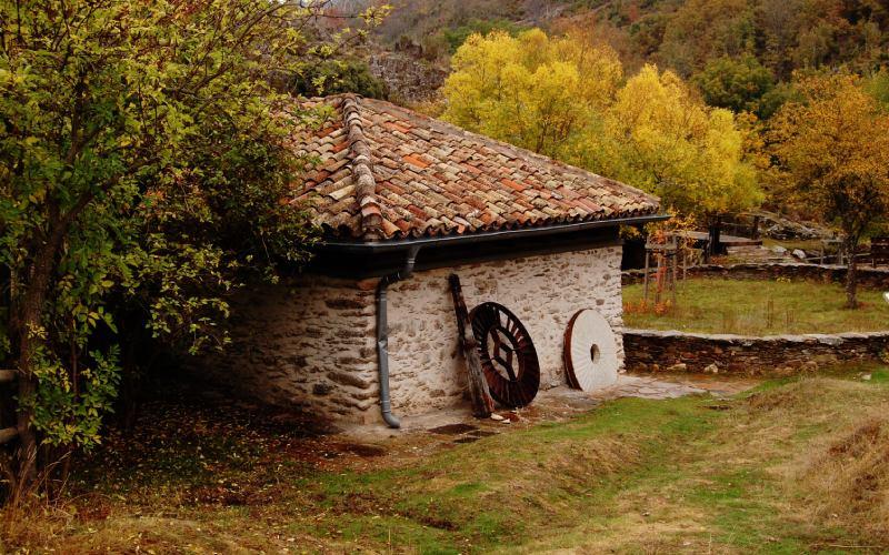 Moulin à farine de La Hiruela