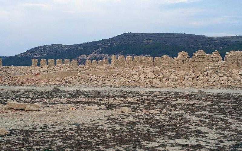 Ruines du site royal de La Isabela, à Buendía