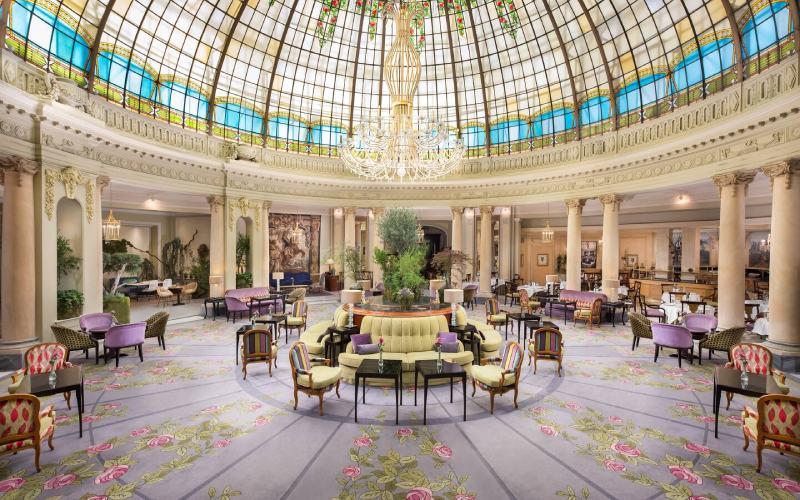 Restaurant La Rotonda du Palace de Madrid