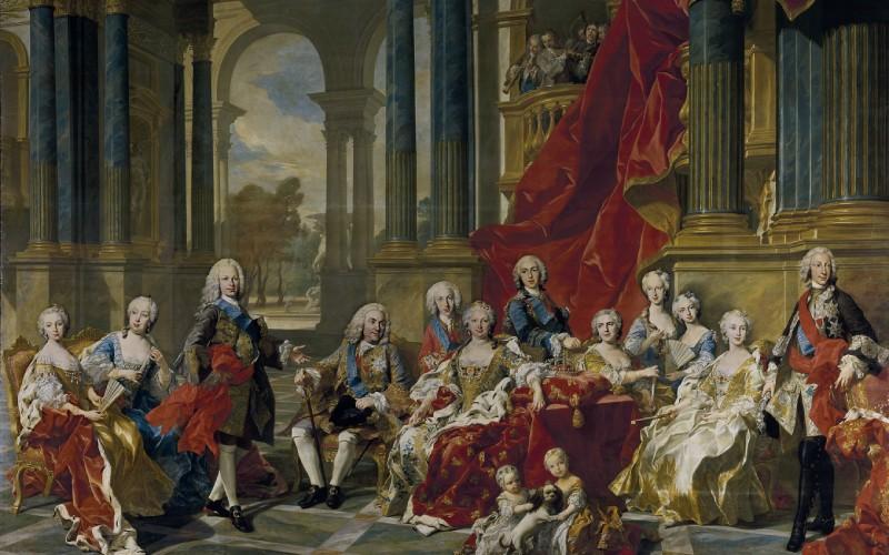La famille de Philippe V