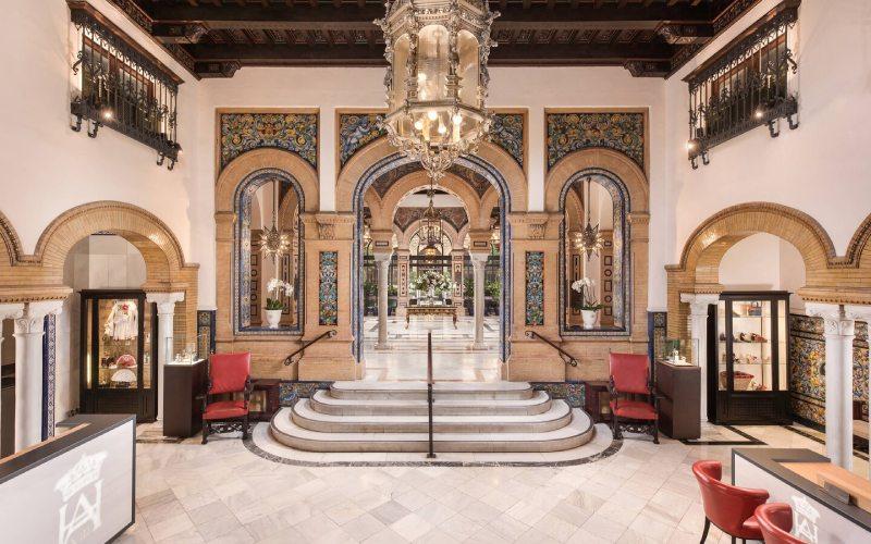 Lobby de l'Hôtel Alfonso XIII