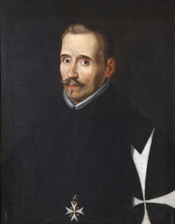 Portrait anonyme de Lope de Vega