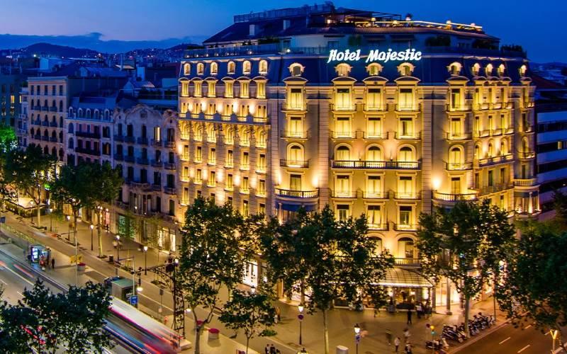 Hôtel Majestic à Barcelone