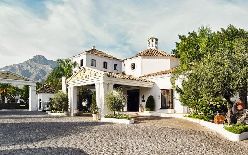Extérieur du Marbella Club