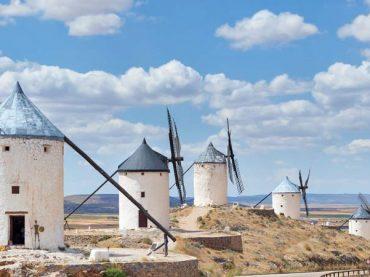 """Venez découvrir les moulins à vent de l'Espagne : """"Ce ne sont pas des géants, mon seigneur !"""""""