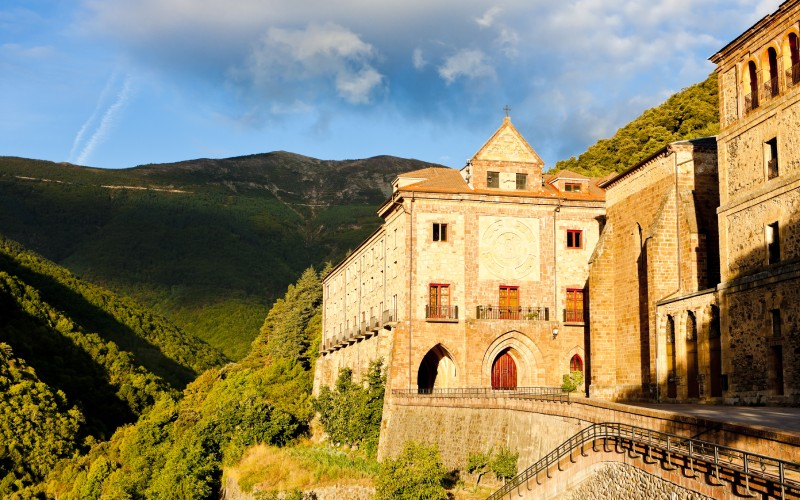 Monastère Nuestra Señora de Valvanera, avec des vues spectaculaires
