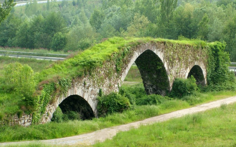 Pont médiéval d'Olloniego
