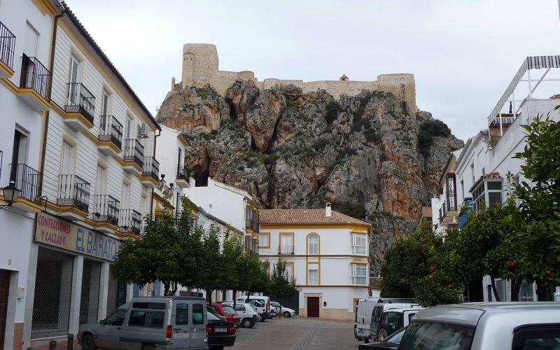 Château arabe d'Olvera