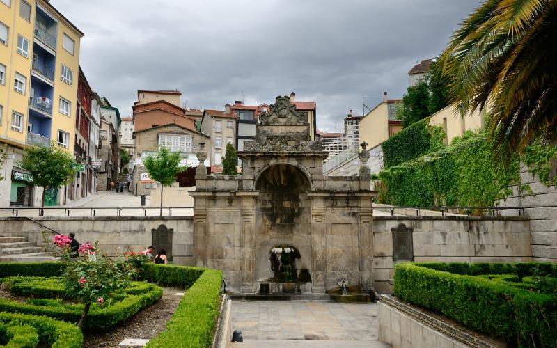 Las Burgas à Orense