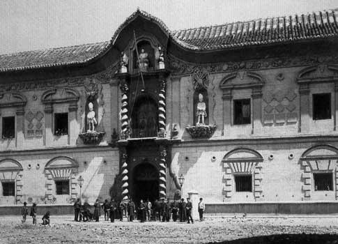 Palais de Bibataubín en 1885