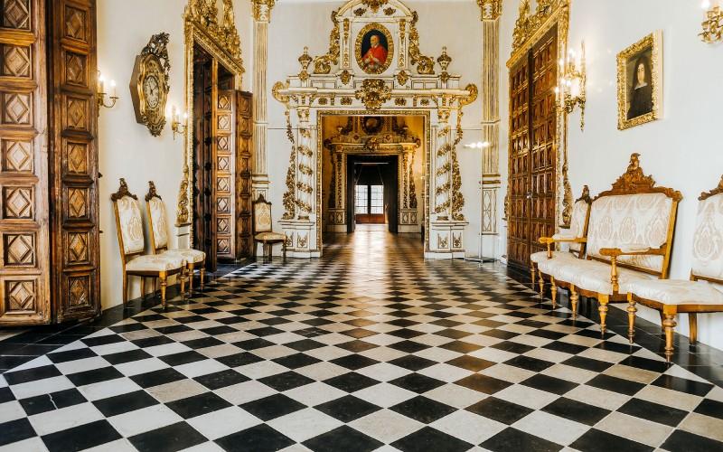 Palais ducal de Gandía, Galerie d'Or